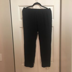 Navy Blue Basic Pull up pants from Theory- Size S
